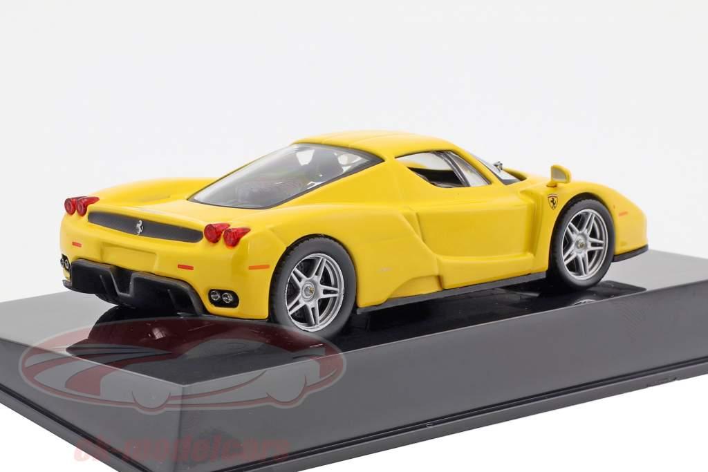 Ferrari Enzo gelb mit Vitrine 1:43 Altaya