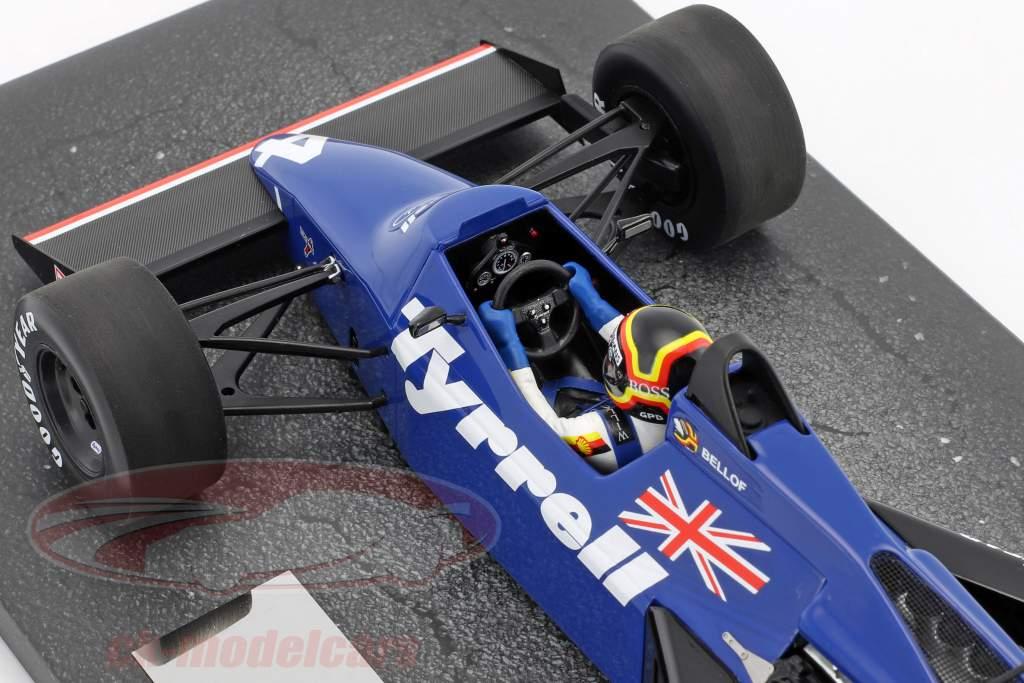 Stefan Bellof Tyrrell 012 #4 Brasilien GP Formel 1 1984 mit Cap 1:18 Minichamps