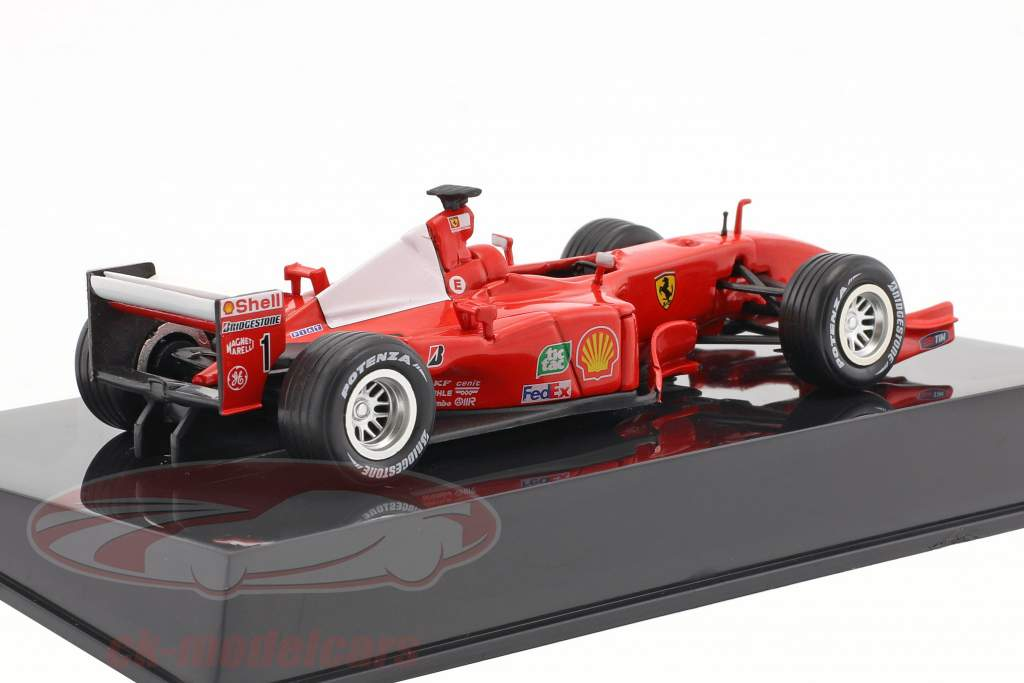 M. Schumacher Ferrari F2001 #1 world champion formula 1 2001 with showcase 1:43 Altaya