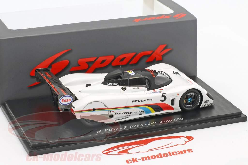 Peugeot 905 #5 24h LeMans 1991 Baldi, Alliot, Jabouille 1:43 Spark