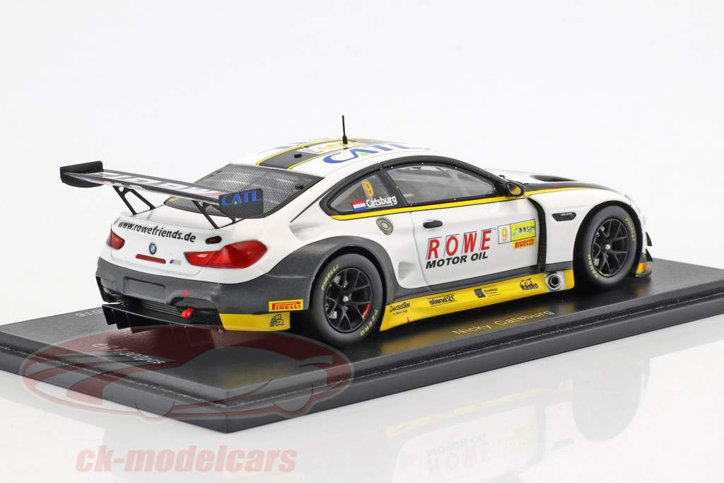 BMW M6 GT3 #9 7th FIA GT World Cup Macau 2017 Nicky Catsburg 1:43 Spark