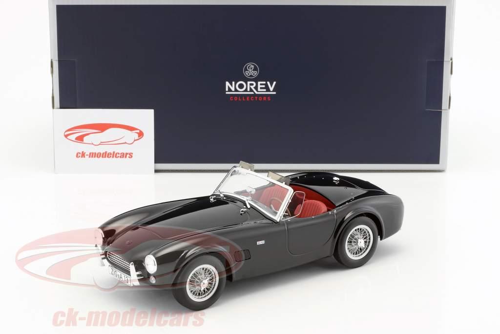 AC Cobra 289 year 1963 black 1:18 Norev