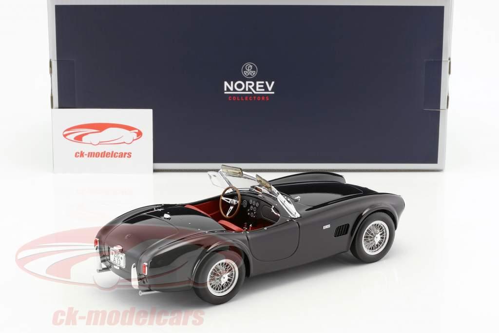 AC Cobra 289 Opførselsår 1963 sort 1:18 Norev