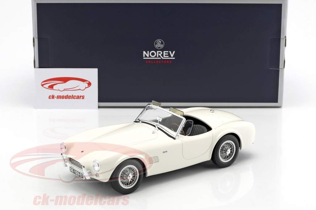 AC Cobra 289 año de construcción 1963 blanco 1:18 Norev