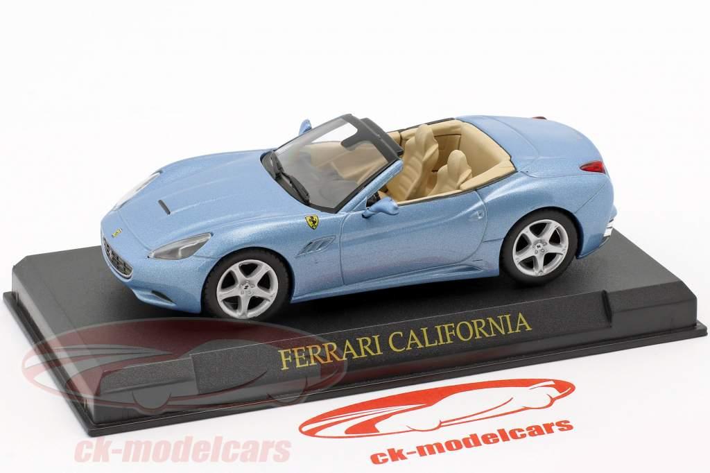 Ferrari California année 2008 bleu clair métallique 1:43 Altaya