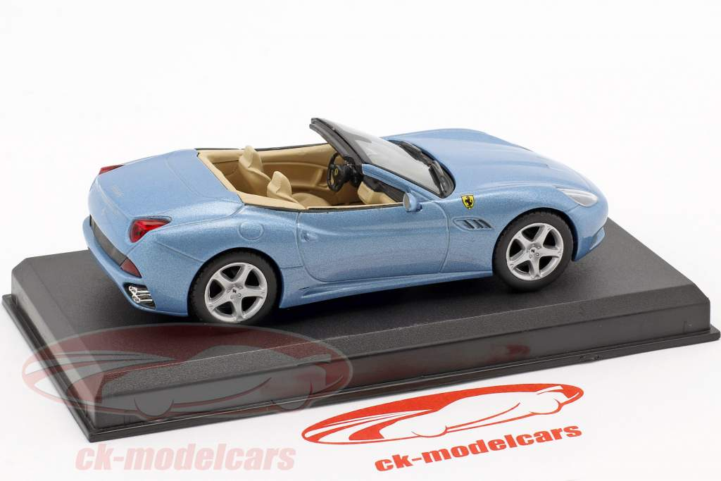 Ferrari California anno 2008 azzurro metallico 1:43 Altaya