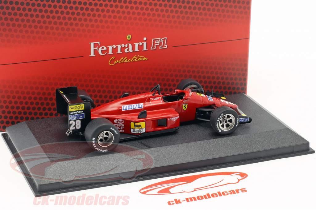 Gerhard Berger Ferrari F1 87 #28 formula 1 1987 1:43 Atlas
