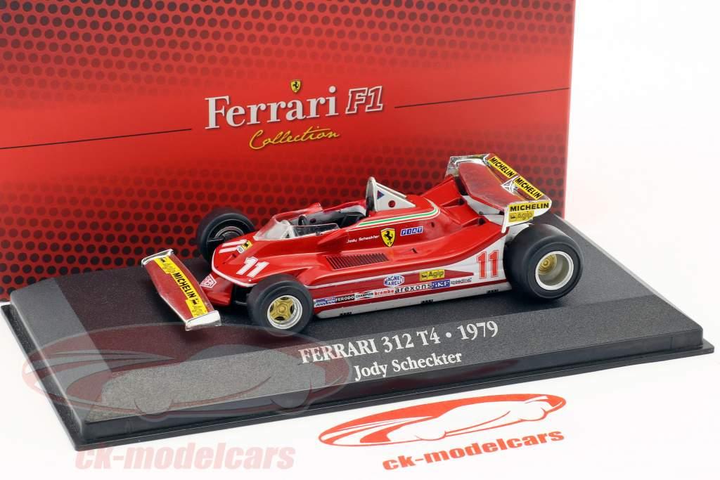 Jody Scheckter Ferrari 312 T4 #11 champion du monde formule 1 1979 1:43 Atlas