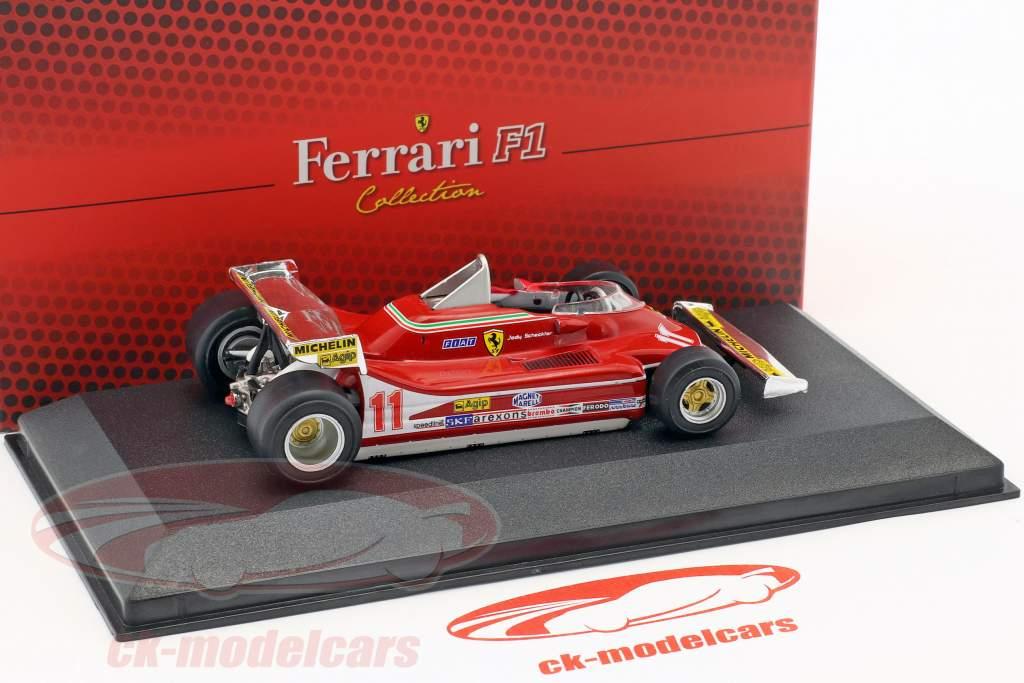 Jody Scheckter Ferrari 312 T4 #11 World Champion formula 1 1979 1:43 Atlas