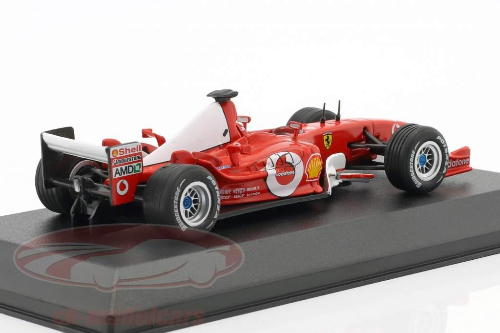 Michael Schumacher Ferrari F2003-GA #1 champion du monde formule 1 2003 1:43 Atlas