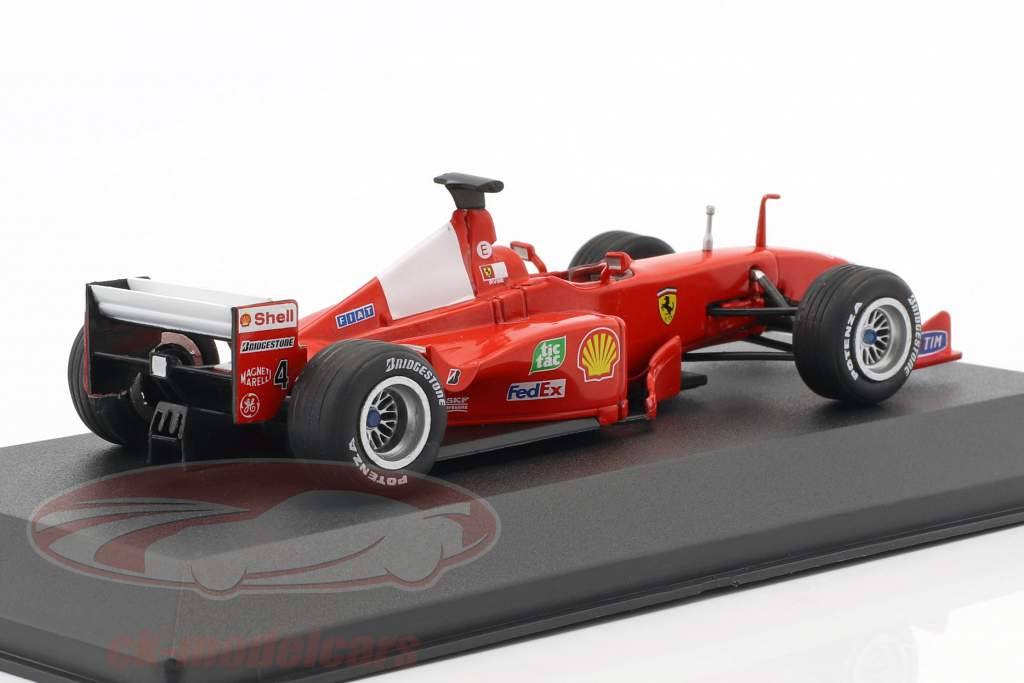 Eddie Irvine Ferrari F399 #4 Formel 1 1999 1:43 Atlas