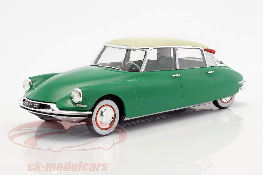 Citroen DS 19 anno di costruzione 1956 verde 1:18 Norev