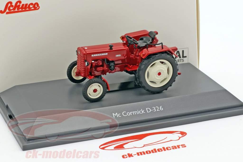 Mc Cormick D-326 Traktor rot 1:43 Schuco