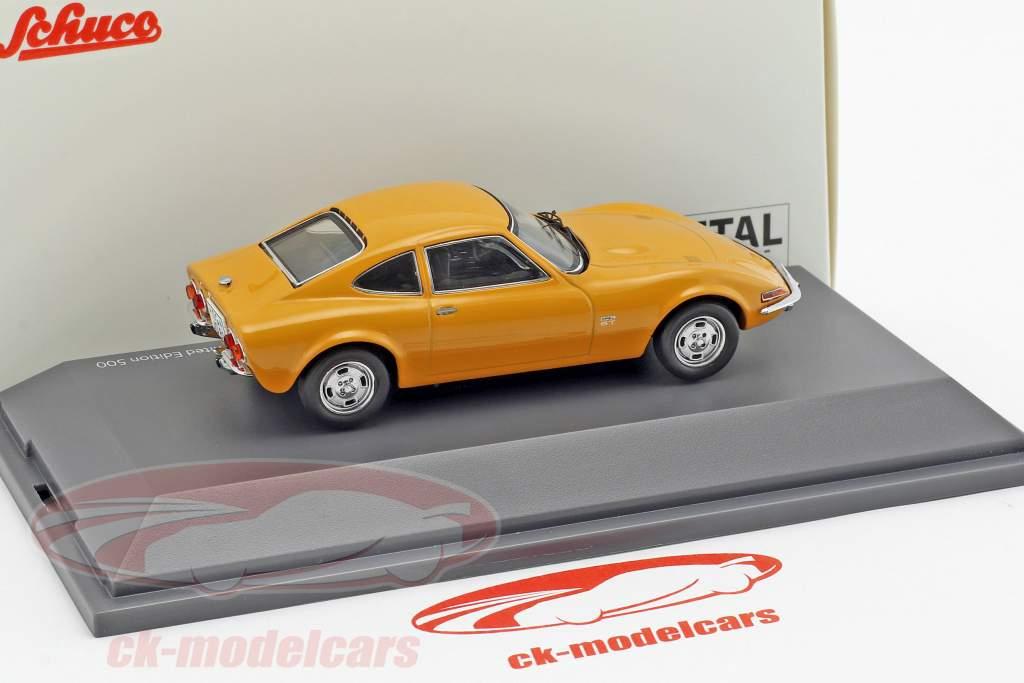Opel GT arancione 1:43 Schuco