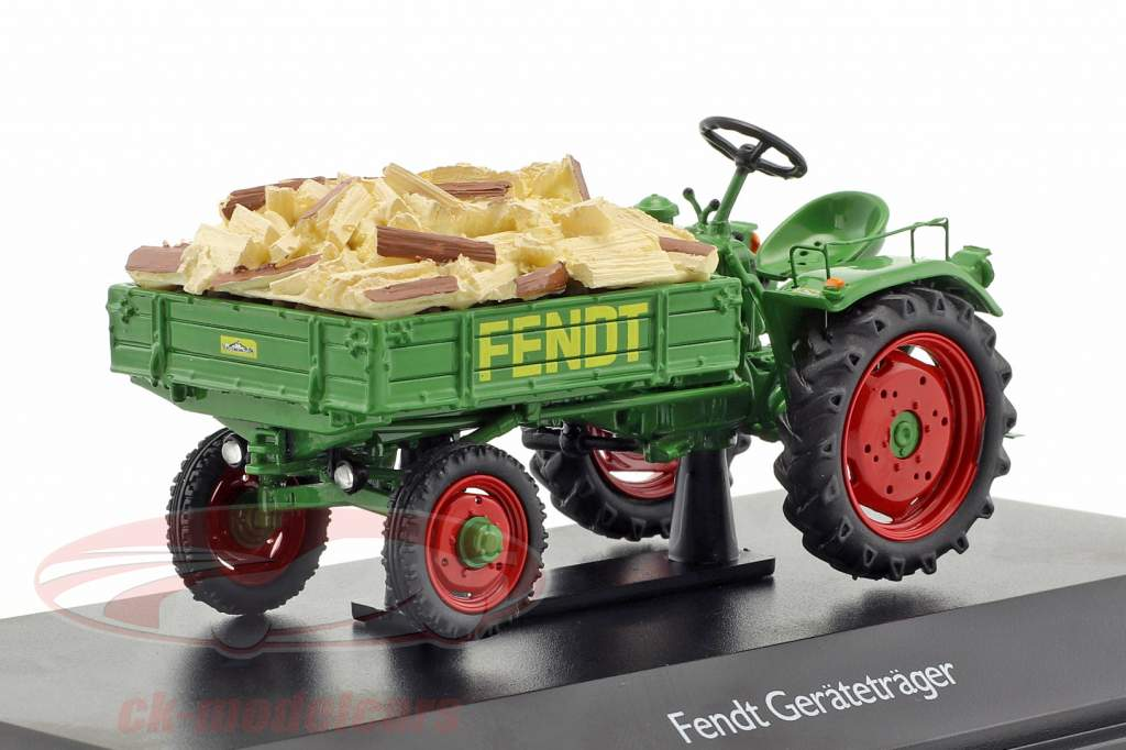 Fendt support d'équipement Scheitholz vert 1:43 Schuco