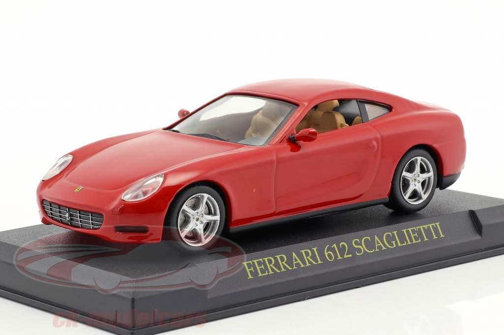 Ferrari 612 Scaglietti rot 1:43 Altaya