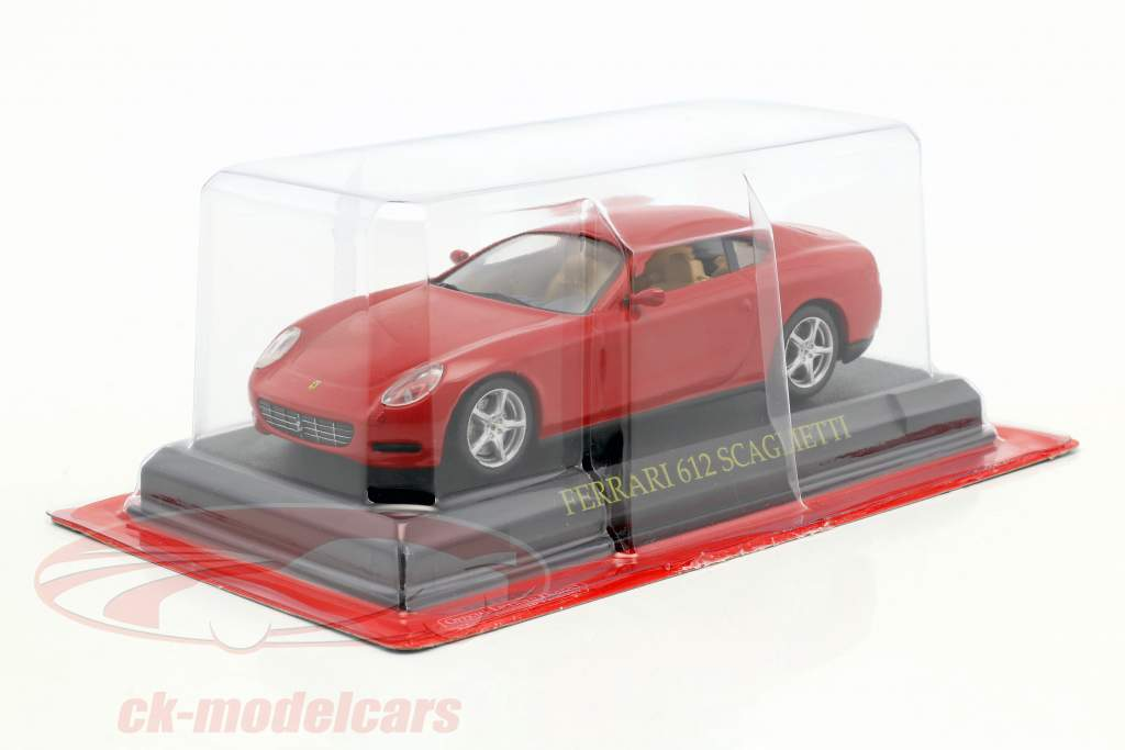 Ferrari 612 Scaglietti rouge 1:43 Altaya