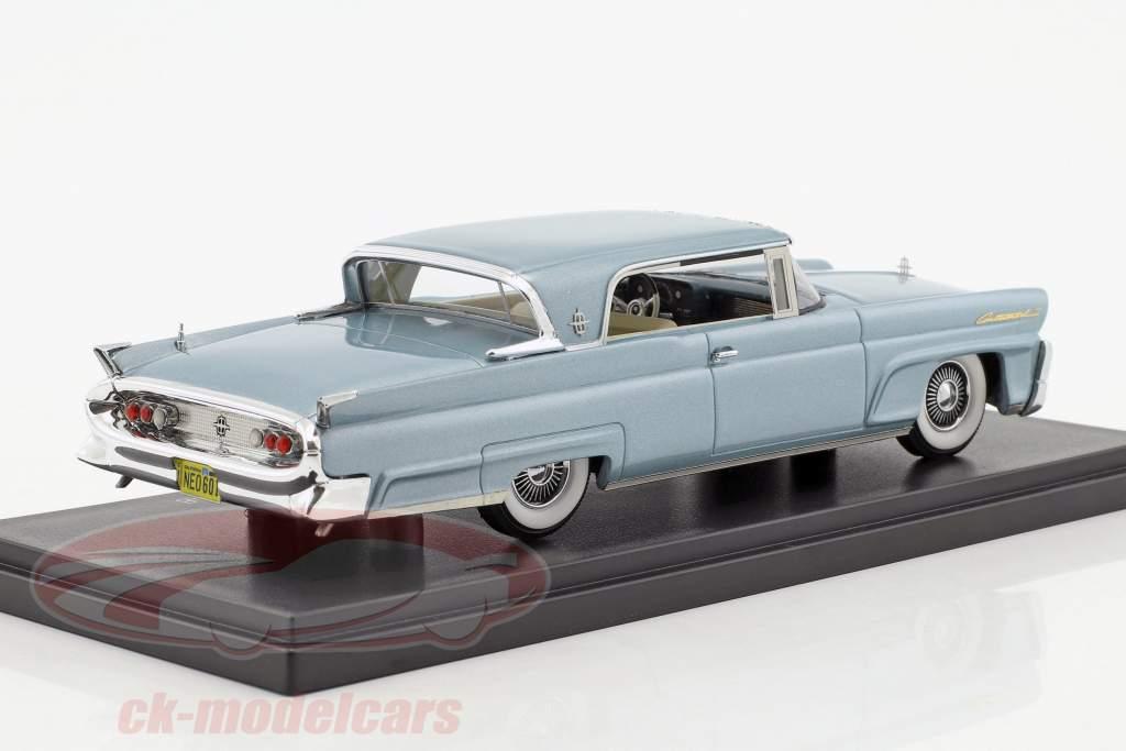 Lincoln Continental Mk. III Hardtop Coupe année de construction 1958 bleu clair métallique 1:43 Neo