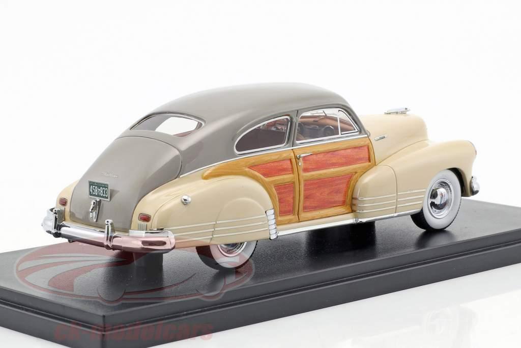 Chevrolet Fleetline Aerosedan year 1948 beige 1:43 Neo