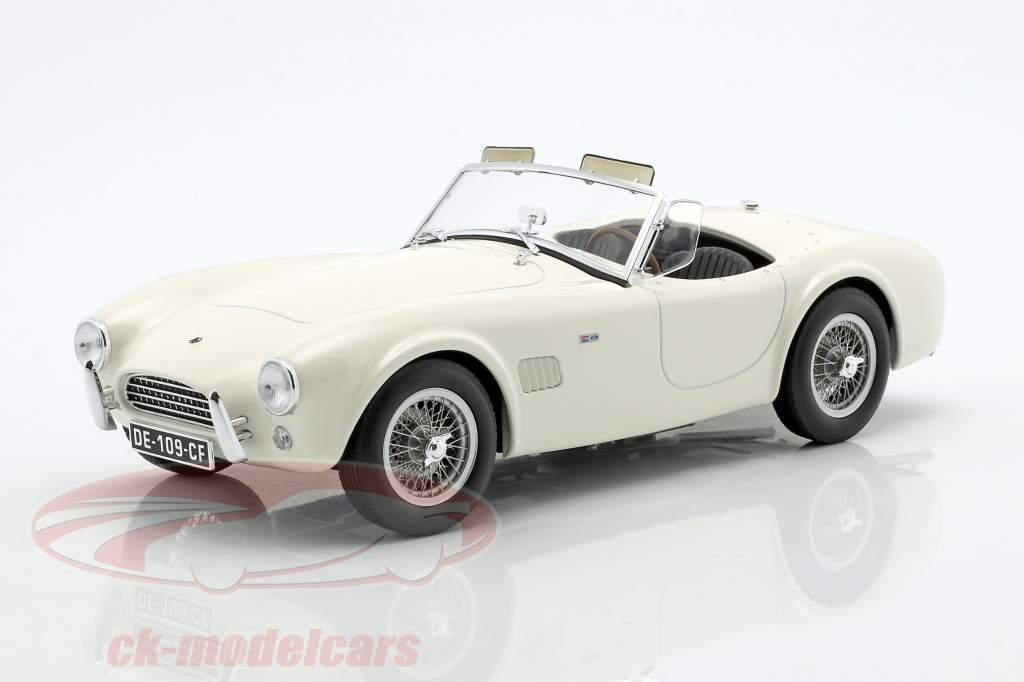 AC Cobra 289 année de construction 1963 blanc 1:18 Norev