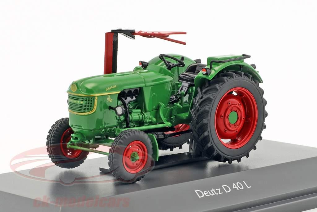 Deutz D40 L Traktor green 1:43 Schuco
