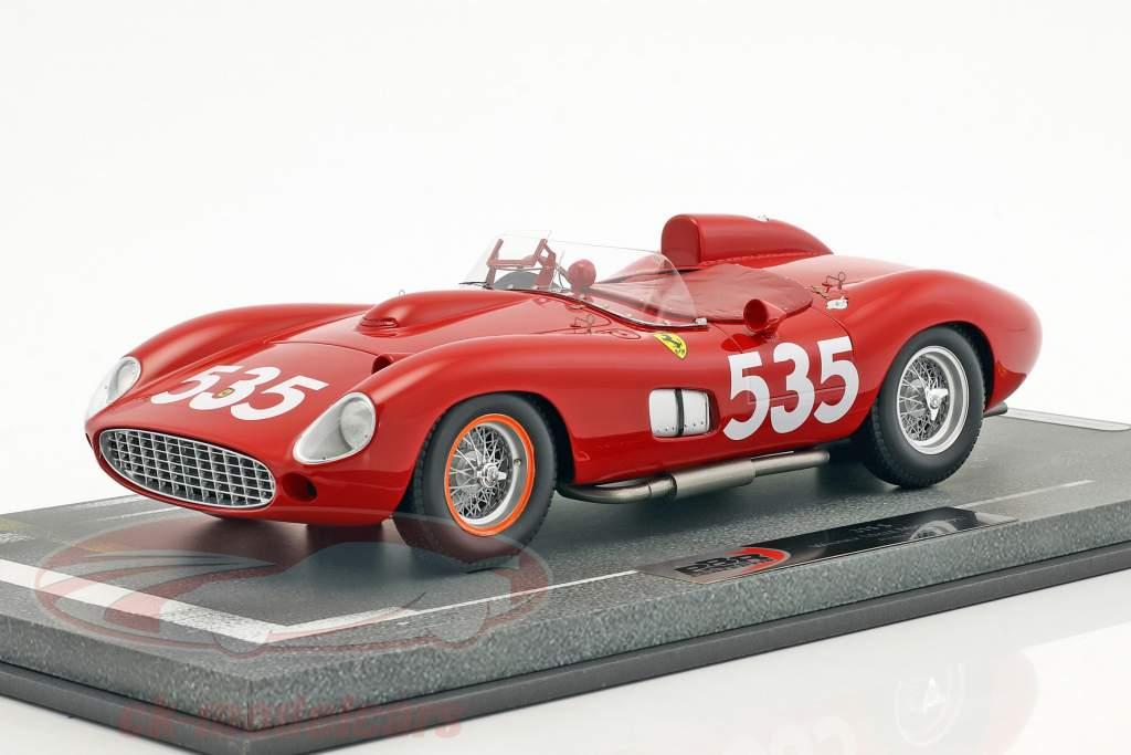Ferrari 315 S #535 Winner Mille Miglia 1957 Piero Taruffi 1:18 BBR