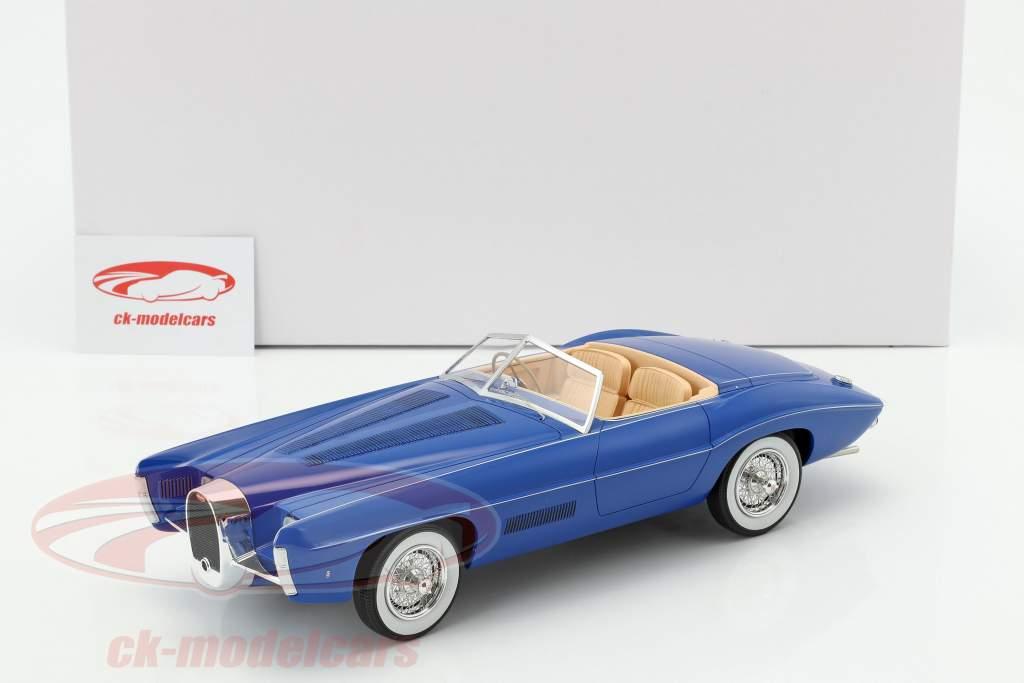 Bugatti T101C Exner-Ghia Spider année de construction 1966 bleu 1:18 Matrix