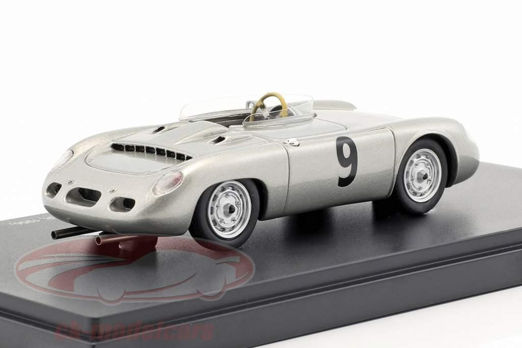 Porsche 645 Spyder Mickymaus #9 Baujahr 1956 silber 1:43 AutoCult
