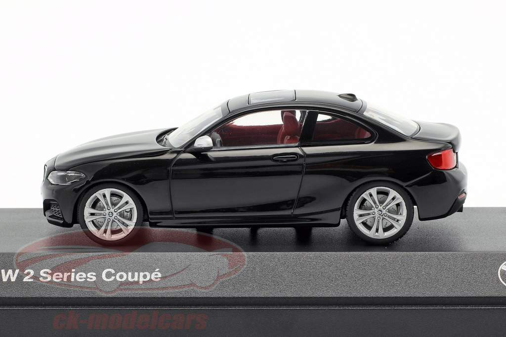 Bmw 2 Series Coupe F22 Black 1 43 Minichamps