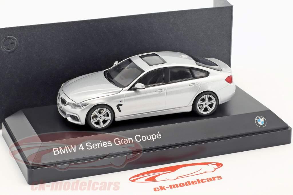 Kyosho 1 43 Bmw 4er 4 Series F36 Gran Coupe Silver 80422348791 Model Car 80422348791 80422348791