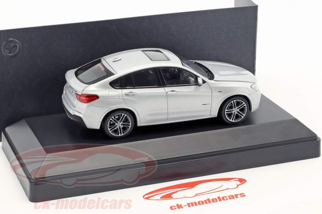 BMW X4 (F26) Anno 2015 argento 1:43 Herpa