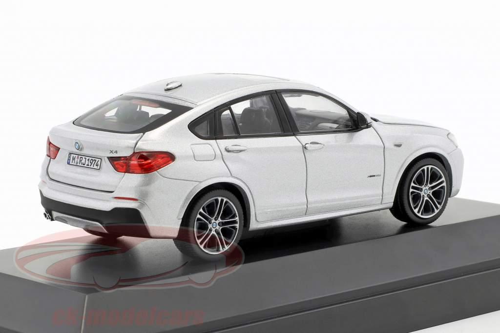 BMW X4 (F26) An 2015 argent 1:43 Herpa