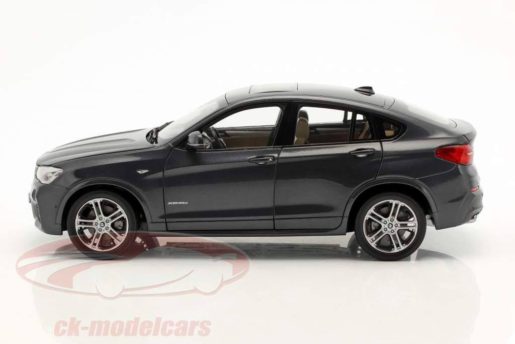 BMW X4 F26 Año 2014 Sophisto gris metálico 1:18 ParagonModels