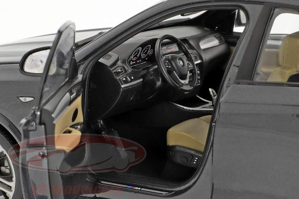 BMW X4 F26 Anno 2014 Sophisto grigio metallico 1:18 ParagonModels