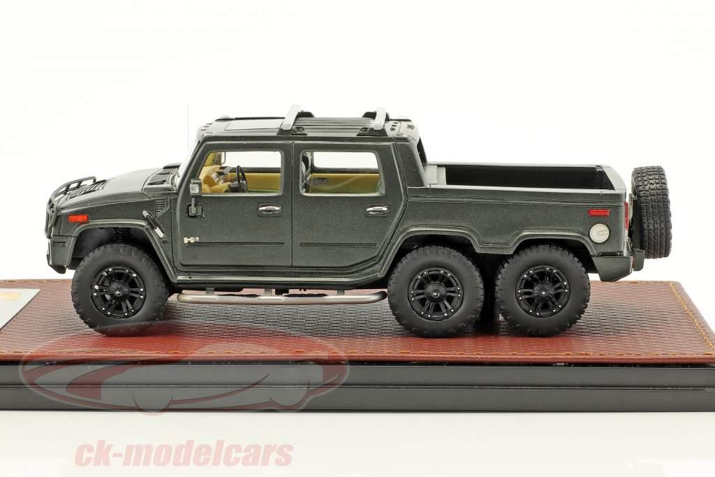 Hummer H2 SUT6 année de construction 2012 noir 1:43 GLM