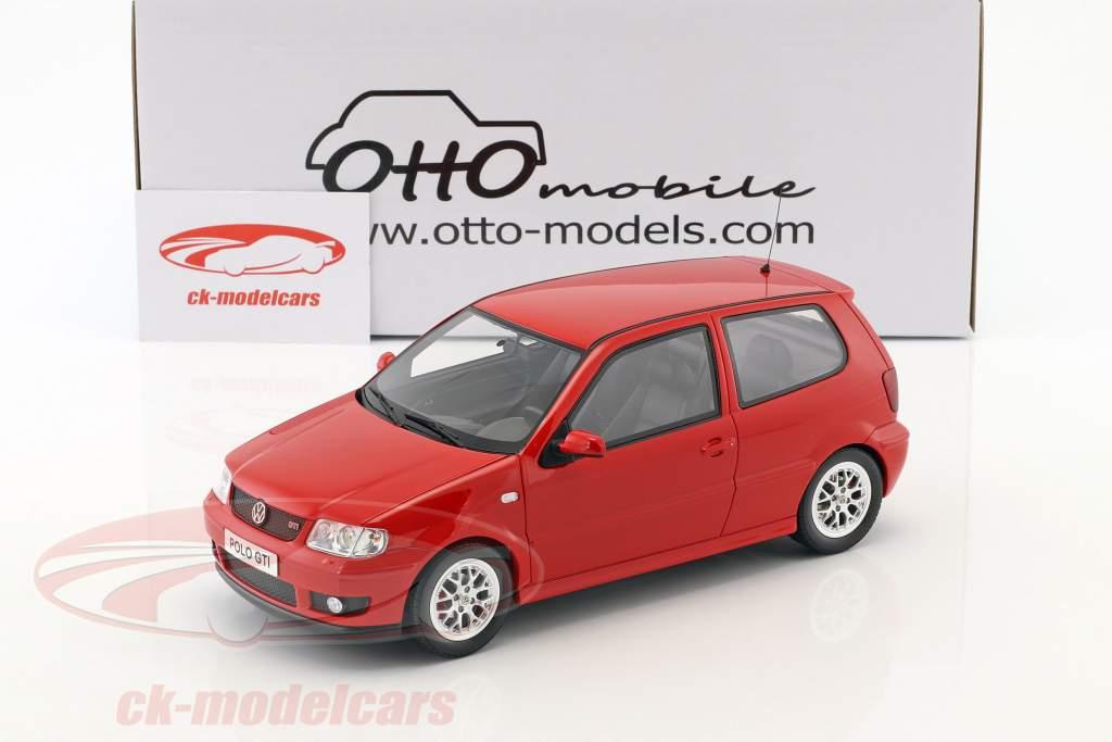 Volkswagen VW Polo GTi année de construction 2001 rouge 1:18 OttOmobile