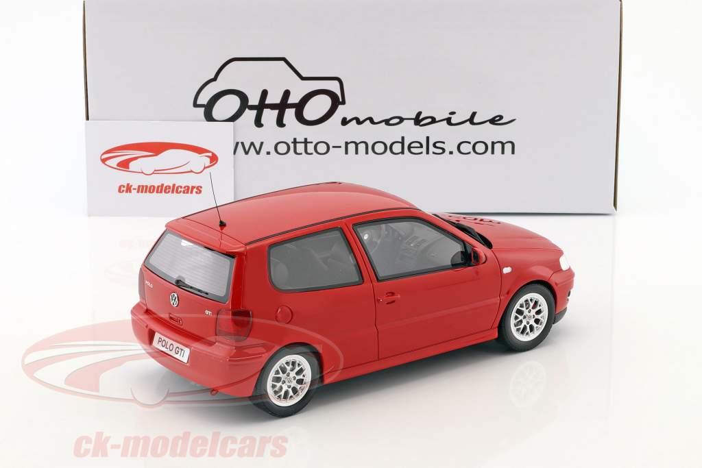 Volkswagen VW Polo GTi anno di costruzione 2001 rosso 1:18 OttOmobile