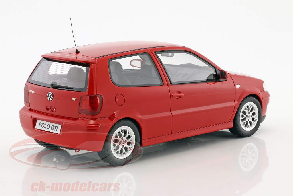 Volkswagen VW Polo GTi year 2001 red 1:18 OttOmobile