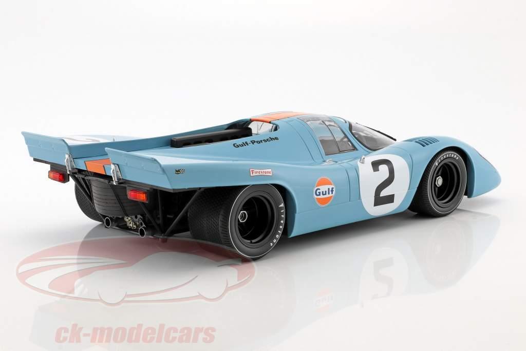 Porsche 917K #2 gagnant 24h Daytona 1970 Rodriguez, Kinnunen, Redman 1:12 Minichamps