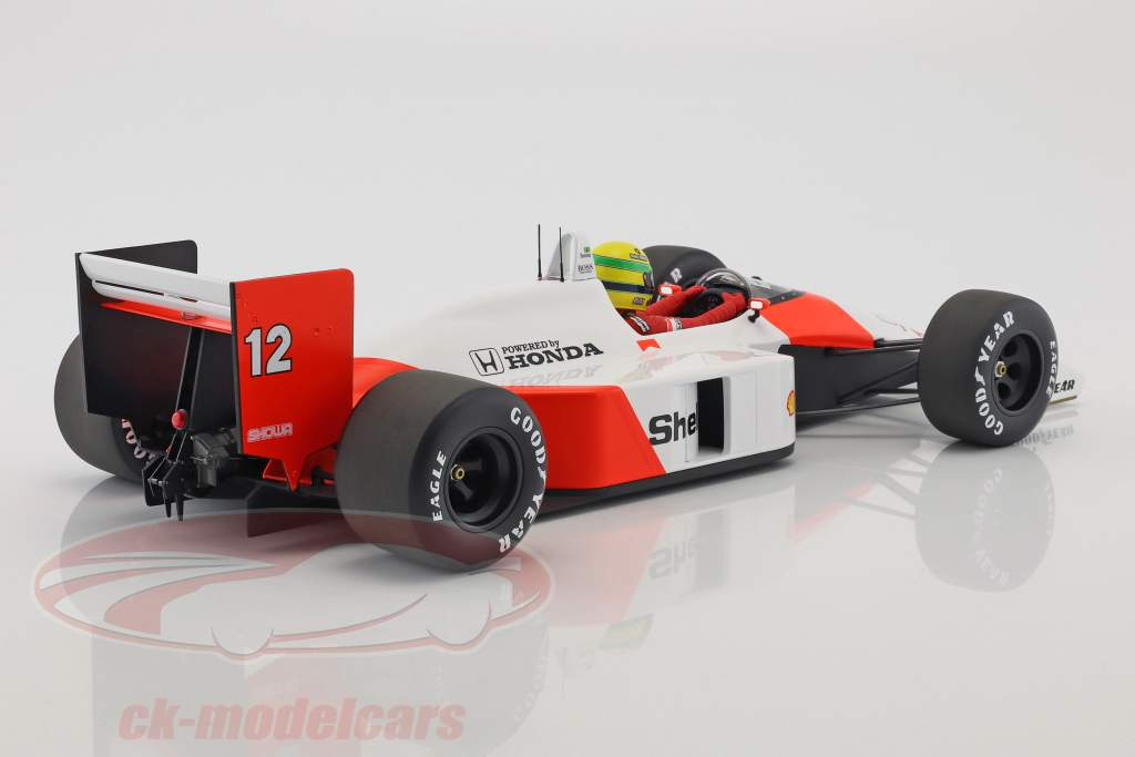 Ayrton Senna McLaren MP4/4 #12 World Champion Formel 1 1988 1:12 Minichamps