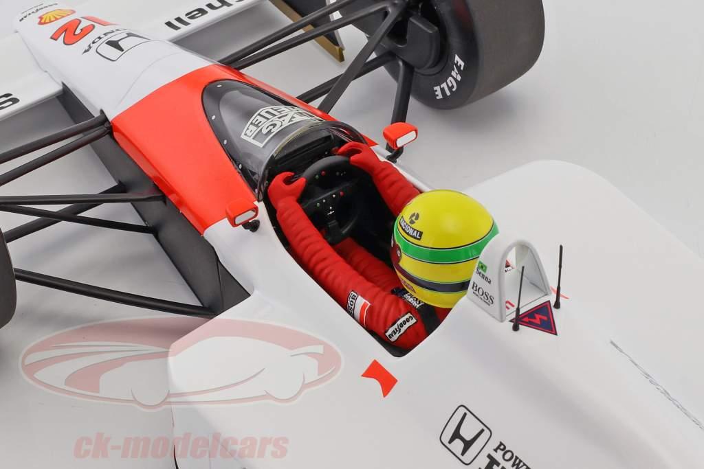 Ayrton Senna McLaren MP4/4 #12 campione del mondo formula 1 1988 1:12 Minichamps