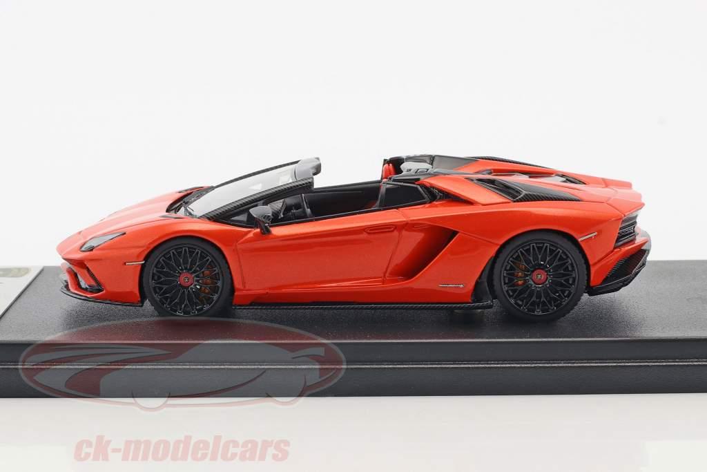 Lamborghini Aventador S roadster année de construction 2016 orange métallique 1:43 LookSmart