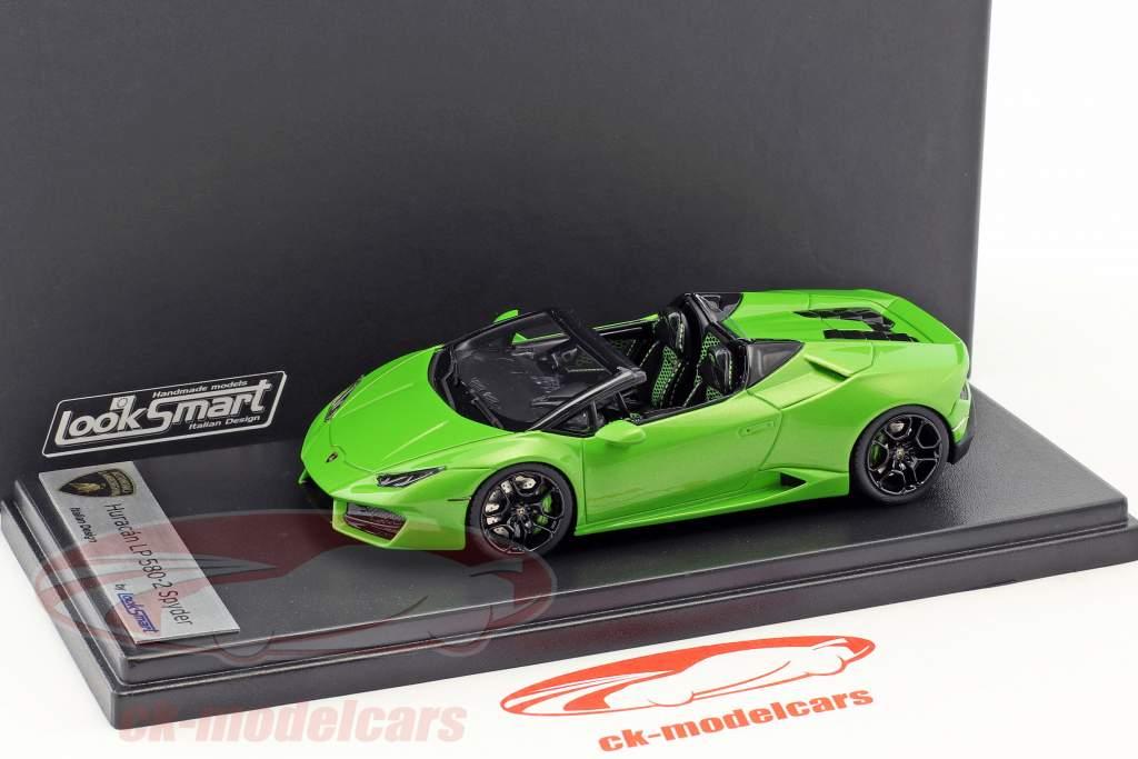 Lamborghini Huracan LP 580-2 Spider année de construction 2016 mantis vert 1:43 LookSmart