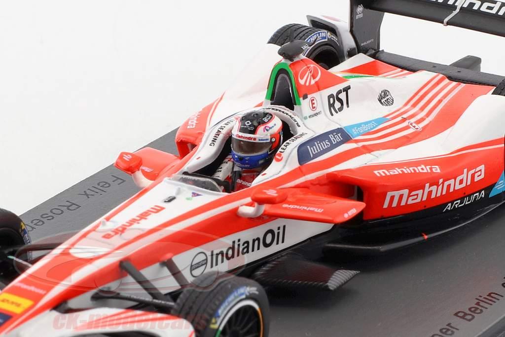 Felix Rosenqvist #19 vincitore Berlin ePrix Season 3 formula E 2016/17 1:43 Spark