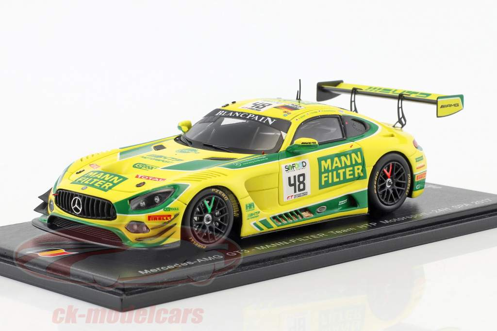 Mercedes-Benz AMG GT3 #48 24h Spa 2017 Mann-Filter Team HTP Motorsport 1:43 Spark