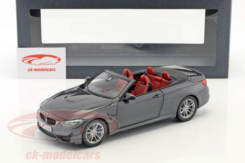 BMW M4 Convertible grau 1:18 ParagonModels