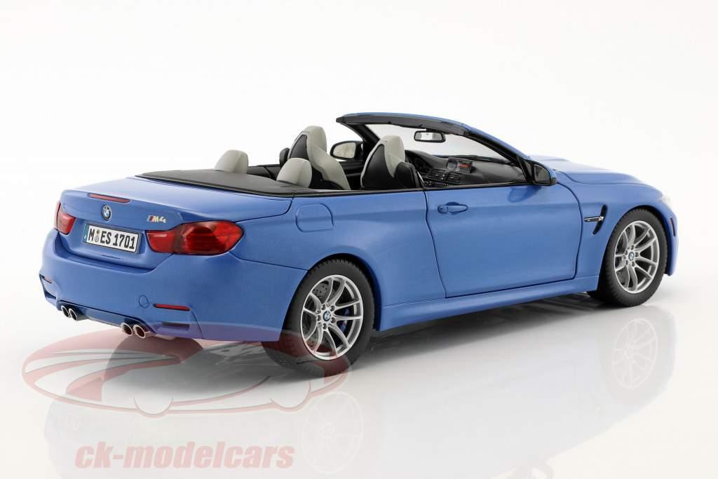 Convertible Anno di costruzione 2015 BLU 1:18 paragonmodels f83 BMW m4