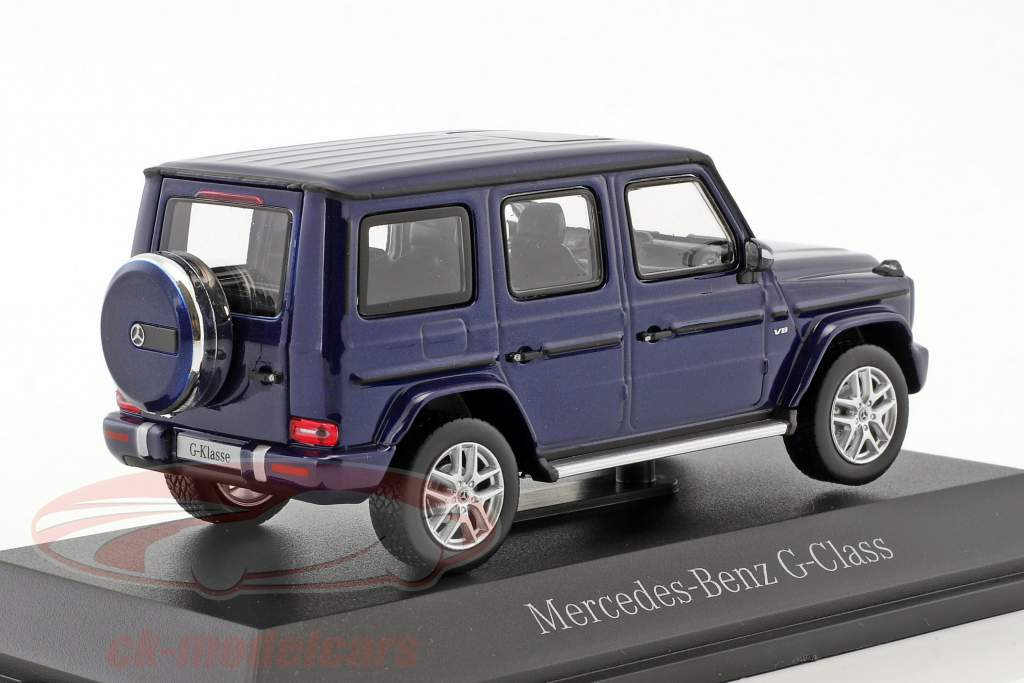 Mercedes-Benz G-Klasse (W463) briljant blauw metalen 1:43 Norev