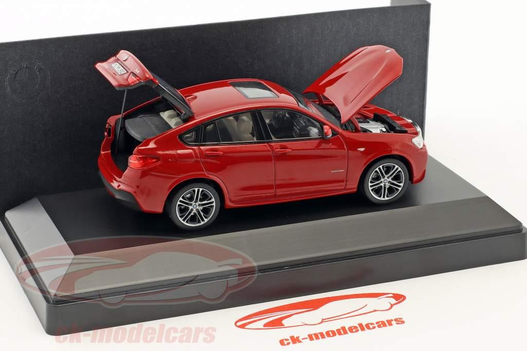 BMW X4 (F26) melbourne red metallic 1:43 Herpa