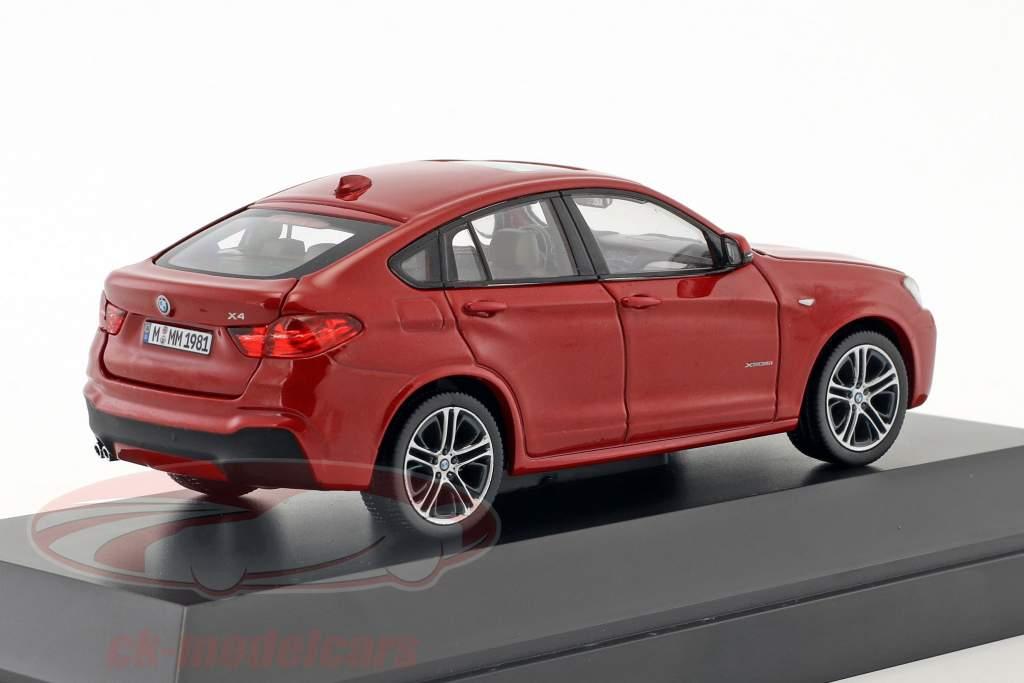 BMW X4 (F26) Melbourne Rojo Metálico 1:43 Herpa
